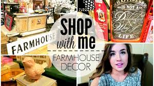 farmhouse home decor shop with me cracker barrel youtube