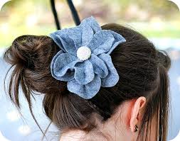 felt hair accessories 1 felt hair clip tutorial makes a great christmas gift my