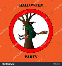 halloween witch backgrounds drunk halloween witch vector illustration background stock vector