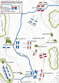 Map Of Usa During Civil War by Battle Of Cropredy Bridge