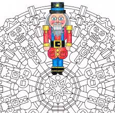 christmas crackers christmas mandala candyhippie coloring pages