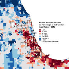 Map Chicago Suburbs by How Chicago Is Making More Zip Codes Accessible To Low Income