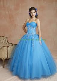 Blue Wedding Dress Ball Gown Blue Gown And Dress Gallery