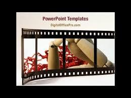 movie reel powerpoint template backgrounds digitalofficepro