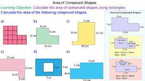 area of composite shapes mr mathematics com