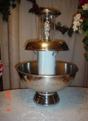 wedding supply rentals simply weddings punch fountains beverage fountains