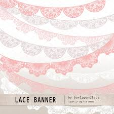 lace banner pink beige white illustrations creative market