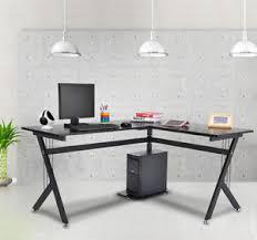 Office Works Corner Desk Homcom 61 L Shaped Computer Desk Corner Study Table Office Work