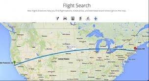 map search directions adds flights to maps lets users sign up for preview