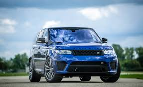 land rover svr 2016 land rover range rover sport svr cars exclusive videos and