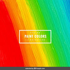 paint background with brushstroke vector free download