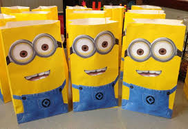 minion gift bags minions goodie bags trend bags