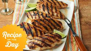 recipe of the day ina u0027s tequila lime chicken food network youtube