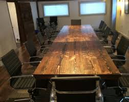 Counter Height Conference Table Counter Height Industrial Conference Table Solid Wood