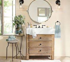 Pottery Barn Mirrors Bathroom by Mason Reclaimed Wood Single Sink Console Wax Pine Finish