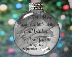personalized remembrance ornaments heaven ornament etsy