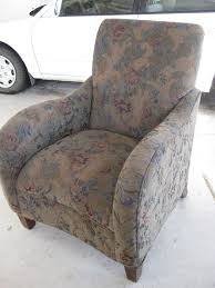 Custom Slipcovers By Shelley Custom Slipcovers By Shelley Modern Floral Chair
