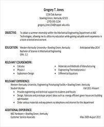 engineering resume for internship 26 generic engineering resume templates free premium templates