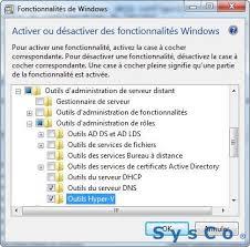 activer bureau a distance mobile windows server 2012 avec hyper v 2012