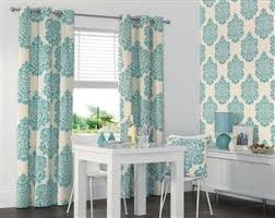 White And Teal Curtains Teal Print Curtains Search To Show M Pinterest