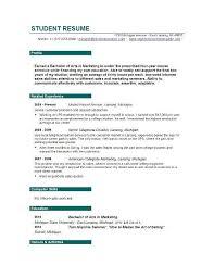 College Resume Creator by Student Resume Creator Best 25 Free Online Resume Builder Ideas