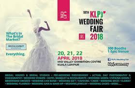 wedding gift kl 20 22 apr 2018 18th klpj wedding fair 2018 april 2018 mid