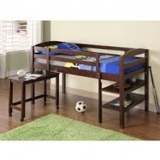 Beds That Have A Desk Underneath Wood Bunk Bed With Desk Underneath Foter