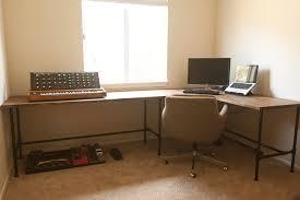 Diy L Shaped Computer Desk Fresh Diy Custom Desk Creative Of Diy L Shaped Insideways Drk