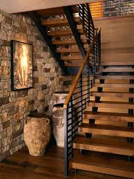 Iron Handrail For Stairs Iron Stair Railing Ideas Houzz
