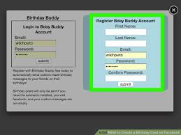 3 ways to create a birthday card on facebook wikihow