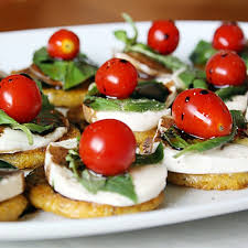 Appetizers For Cocktail Parties Easy - polenta caprese bites these were a big hit at my cocktail party