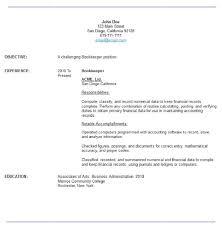 Bookkeeper Duties And Responsibilities Resume Bookkeeping Sample Resume Unforgettable Bookkeeper Resume