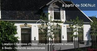 chambre d hote hollande chambres d hôtes à beets dans une propriété privée iha 57929