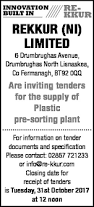 contracts u0026 tenders in northern ireland belfasttelegraph co uk