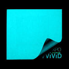 glow in the glow in the blue car paint vinyl wrap the vvivid shop