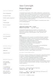 chemical engineering resume objective electrical 8 example
