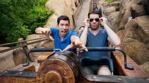 Drew And Jonathan Scott Hgtv U0027s U0027property Brothers U0027 Visit Walt Disney World Resort Disney