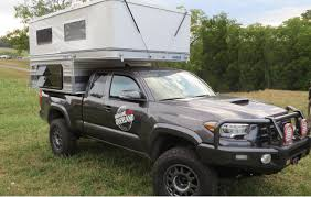 nissan frontier camper shell rocky mountain four wheel campers fleet