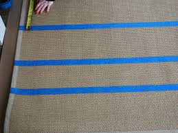 Painting A Jute Rug How To Paint A Cottage Style Sisal Rug How Tos Diy