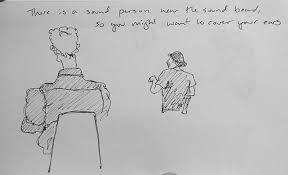 sketch ivan depeña at mccoll center for art innovation hannah u0027s