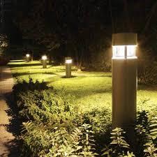 smart outdoor light post fixtures all home design ideas