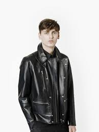 black riding jacket mcq riding jacket in black for men lyst