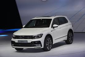 2018 vw tiguan release date configurations and interior