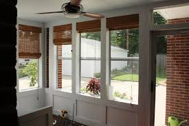 Bamboo Door Blinds Bamboo Roll Up Blinds Ashley Home Decor