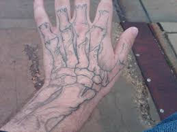 skeleton hand tattoo different view by devilmaycryshawty on deviantart