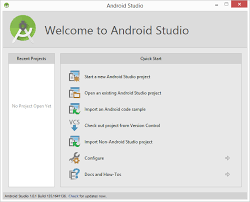 android studio 1 5 tutorial for beginners pdf creating an exle android app in android studio techotopia