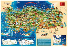 Istanbul Turkey Map Turkey Cartoon Map On Behance