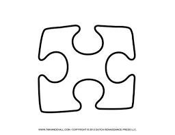 9 best board images on pinterest puzzle piece template puzzle