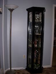 corner curio cabinet with lock tags 30 unique corner curio
