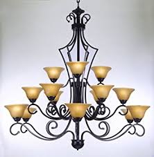 Chandelier Foyer Large Foyer Or Entryway Wrought Iron Chandelier H51 X W49
